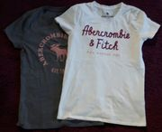 Abercrombie Fitch 2 T-Shirts in