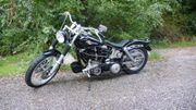 Harley Davidson EVO Knickrahmen Hamburg