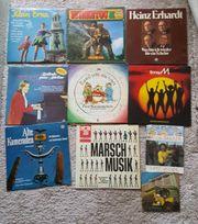 Diverse Schallplatten