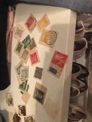 Vereinzelte Briefmarken Deutsche reich