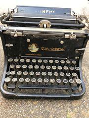 Alte Schreibmaschine Continental