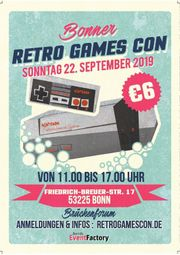 RetroGamesCon Bonn Ticket