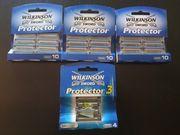 34 x Wilkinson Protector Rasierklingen
