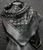 Louis Vuitton Schal - Schwarz 142x142cm
