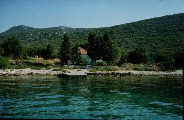 Kroatien Ferienhaus direkt am Meer
