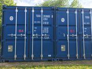 Container als Abstell- Lagermöglichkeit - Self