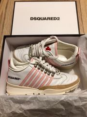 Dsquared Sneaker 37 Weiss Pink
