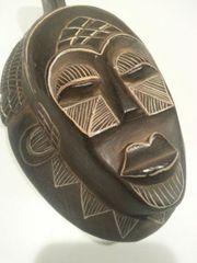 Handgeschnitzte Indonesische Holzmaske