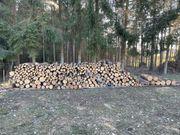 Brennholz Kiefer Fichte Rundholz 1m