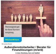 Außendienstmitarbeiter Berater für Finanzlösungen m