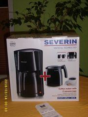 Kaffeeautomat mit 2 Thermokannen zu