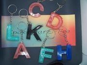 Schlüsselanhänger aus Epoxidharz