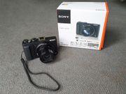 Digitalkamera Sony Cyber-shot DSC-HX60V - Schwarz