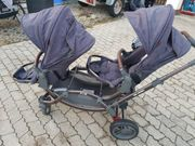 Zwillingskinderwagen oder Geschwisterwagen