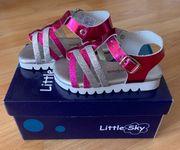 Little Sky Leder-Sandalen Neue Gr