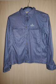 Wanderbluse blau Gr 36 38
