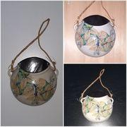Wandvase Keramik Handarbeit Wandschmuck Vintage