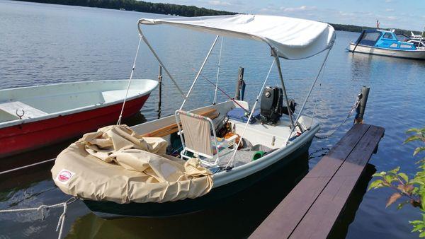 Ruder Angelboot Nell 1