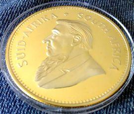 Münzen - 1 OZ Krügerrand - 1967 - Medaille