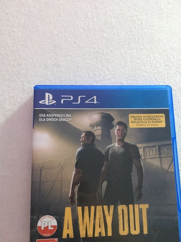 PS4 Spiel A Way Out