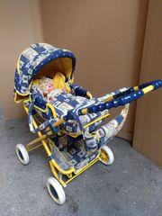 Puppen- kinder -Wagen
