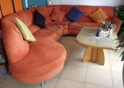 Eck-Couch von Segmüller Sofa Wohnlandschaft