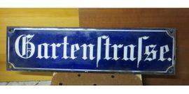 Emailschild alt Schild Strassenschild gewölbt: Kleinanzeigen aus Neustadt - Rubrik Sonstige Antiquitäten
