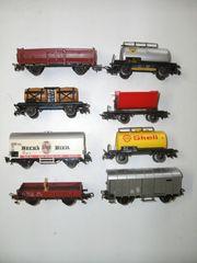 14 Märklin H0 Güterwagen