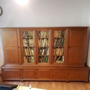 Bücherschrank Eiche massiv Försterstube