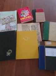 Briefmarkensammlung - tw sehr alt