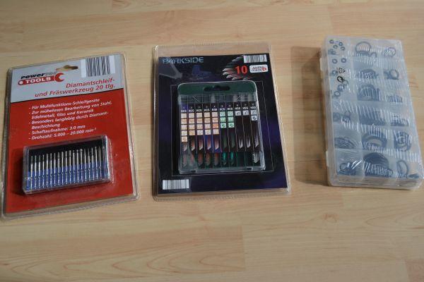 Verkaufe Werkzeug und Zubehör originalverpackt