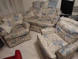 Designermöbel, Klassiker - Couchgarnitur hochwertg zeitlos Design