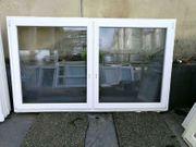 Zweiflügige Kunststoff Fenster 243 cm