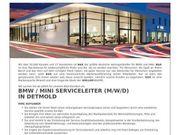 BMW Mini Serviceleiter m w