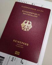 Reisepass-Führerschein und Dokumente