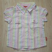 Mädchen Kurzarm Bluse Kinder Hemd