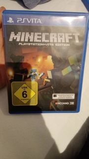Minecraft PlayStation Vita Edition PSP