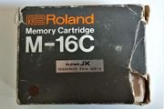 ROLAND M-16C Memory Cartridge Originallabel