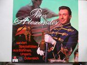 Schallplatte Peter Alexander - serviert Spezialitäten