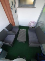 Rattan Gartenmöbel Set