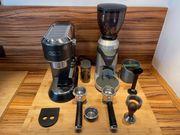 Espresso Siebträgermaschine De Longhi Dedica