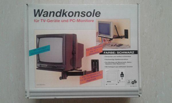 Wandkonsole für TV PC