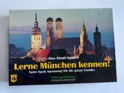 Gesellschaftsspiel Lerne München kennen Brettspiel