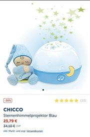 chicco sternerhimmelptojektor Blau Kinder baby