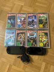 PSP PS3 diverse Spiele