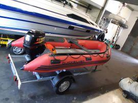 Motorboote - Quicksilver Schlauchboot mit 25 PS