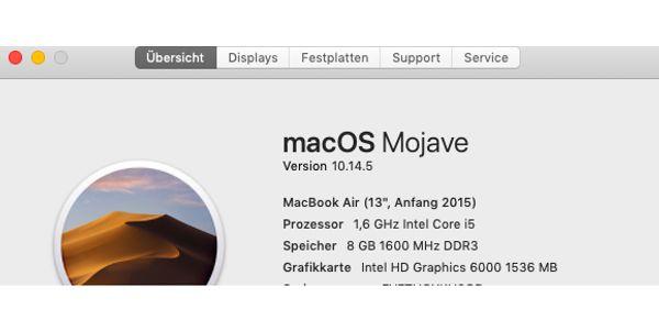 MacBook Air 13 1466 2015