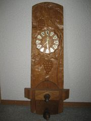 Winzer Weinstube Lokal Uhr Holz