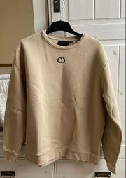 Criminal Damage Sweatshirt Beige Essential