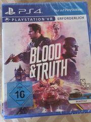 PS4 Blood u truth